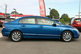 2010 Honda Civic 8th Gen MY10 VTi-L Dyno Blue 5 Speed Automatic Sedan