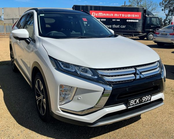 Used Mitsubishi Eclipse Cross YA MY19 Exceed 2WD Cobram, 2019 Mitsubishi Eclipse Cross YA MY19 Exceed 2WD White Continuous Variable Transmission Wagon