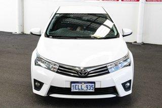 2014 Toyota Corolla ZRE172R SX Glacier White 7 Speed CVT Auto Sequential Sedan.