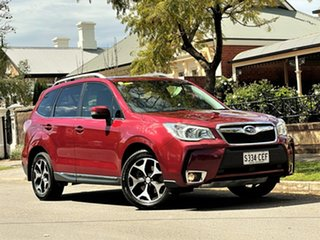 2015 Subaru Forester S4 MY15 XT CVT AWD Premium Red 8 Speed Constant Variable Wagon.
