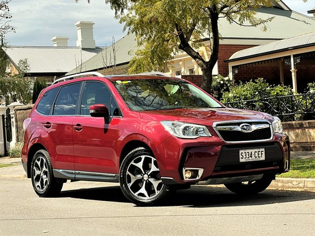 Used Subaru Forester S4 MY15 XT CVT AWD Premium Hyde Park, 2015 Subaru Forester S4 MY15 XT CVT AWD Premium Red 8 Speed Constant Variable Wagon