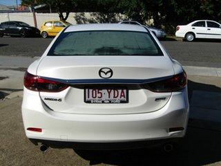 2015 Mazda 6 GJ1032 Sport SKYACTIV-Drive Pearl White 6 Speed Sports Automatic Sedan.