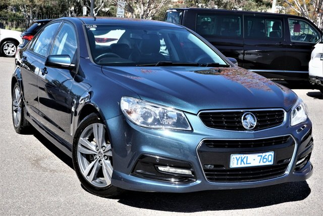 Used Holden Commodore VF MY14 SV6 Phillip, 2014 Holden Commodore VF MY14 SV6 Blue 6 Speed Sports Automatic Sedan