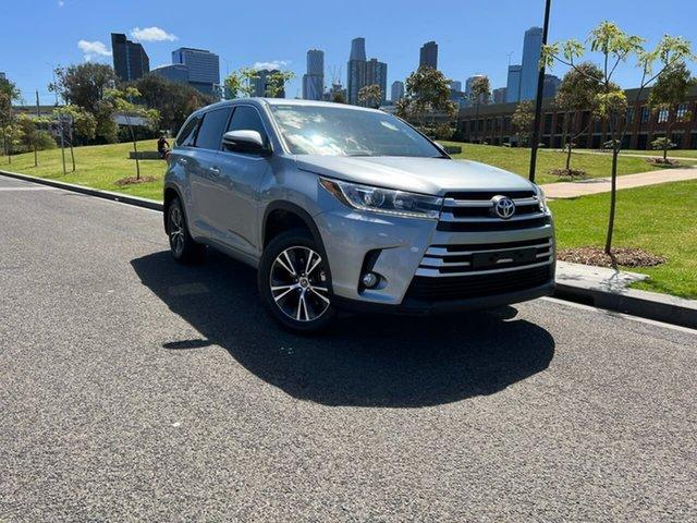 Used Toyota Kluger GSU50R GX 2WD South Melbourne, 2017 Toyota Kluger GSU50R GX 2WD Silver 8 Speed Sports Automatic Wagon