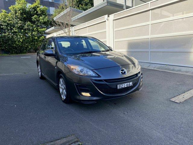 Used Mazda 3 BL10C1 MY10 MZR-CD Zetland, 2011 Mazda 3 BL10C1 MY10 MZR-CD Grey 6 Speed Manual Hatchback