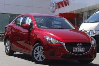2018 Mazda 2 DL2SAA Neo SKYACTIV-Drive Soul Red 6 Speed Sports Automatic Sedan.