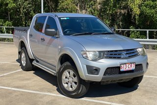 2013 Mitsubishi Triton GLX 4X4 MN MY13 Silver 4 Speed Auto Active Select Dual Cab.