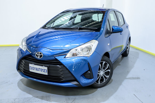 Used Toyota Yaris NCP130R Ascent Canning Vale, 2018 Toyota Yaris NCP130R Ascent Blue 4 Speed Automatic Hatchback