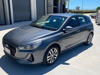 2018 Hyundai i30 PD2 MY19 Active Grey 6 Speed Sports Automatic Hatchback.