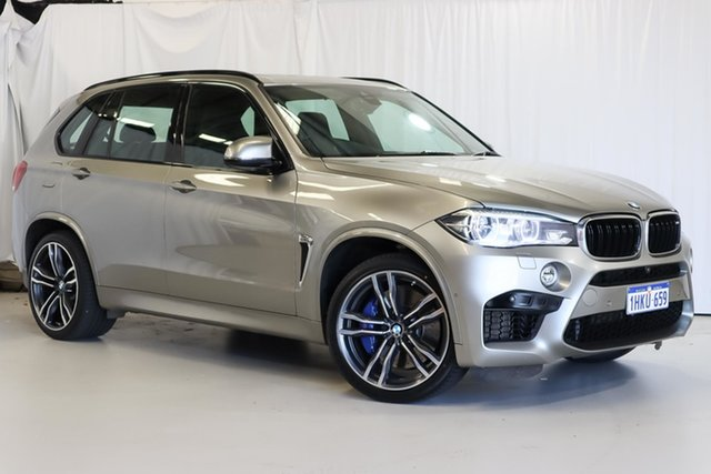 Used BMW X5 M F85 Steptronic Wangara, 2017 BMW X5 M F85 Steptronic Grey 8 Speed Sports Automatic Wagon