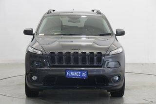 2015 Jeep Cherokee KL MY15 Blackhawk Grey 9 Speed Sports Automatic Wagon.
