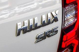 2020 Toyota Hilux GUN126R SR5 Double Cab Glacier White 6 Speed Manual Utility