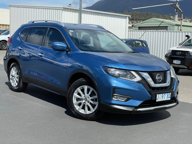 Used Nissan X-Trail T32 Series II ST-L X-tronic 4WD Moonah, 2018 Nissan X-Trail T32 Series II ST-L X-tronic 4WD Blue 7 Speed Constant Variable Wagon