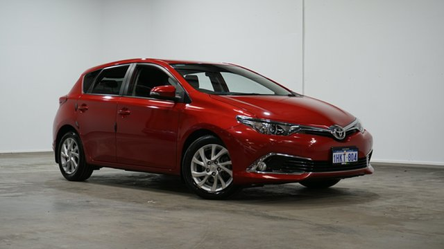 Used Toyota Corolla ZRE182R Ascent Sport S-CVT Welshpool, 2018 Toyota Corolla ZRE182R Ascent Sport S-CVT Red 7 Speed Constant Variable Hatchback