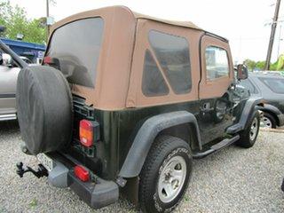 1997 Jeep Wrangler TJ Sport (4x4) Green 3 Speed Automatic 4x4 Softtop