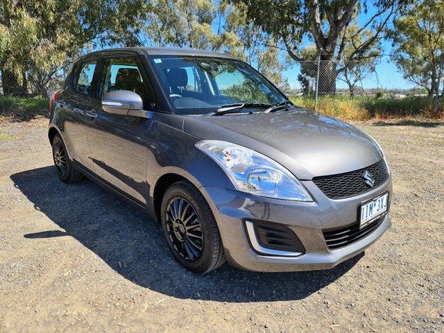 Used Suzuki Swift FZ MY15 GL Epsom, 2016 Suzuki Swift FZ MY15 GL Grey 4 Speed Automatic Hatchback