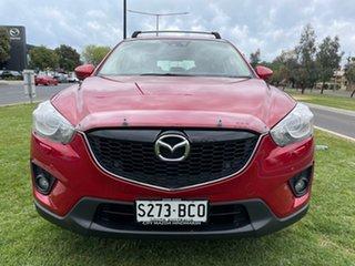 2014 Mazda CX-5 KE1031 MY14 Akera SKYACTIV-Drive AWD Soul Red 6 Speed Sports Automatic Wagon.