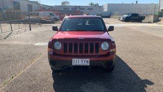 2013 Jeep Patriot MK MY12 Sport (4x2) Red 6 Speed CVT Auto Sequential Wagon