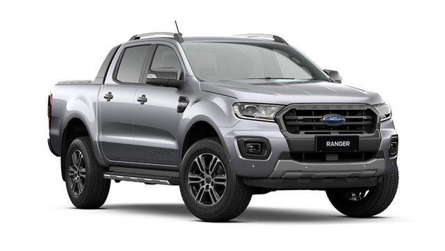 New Ford Ranger PX MkIII 2021.75MY Wildtrak Cardiff, 2021 Ford Ranger PX MkIII 2021.75MY Wildtrak Aluminium Silver 10 Speed Sports Automatic