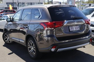 2016 Mitsubishi Outlander ZK MY16 LS 2WD Ironbark 6 Speed Constant Variable Wagon.