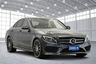 2014 Mercedes-Benz C-Class W205 C250 7G-Tronic + Grey 7 Speed Sports Automatic Sedan.
