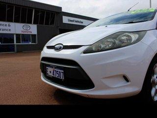 2010 Ford Fiesta WS Zetec White 4 Speed Automatic Hatchback