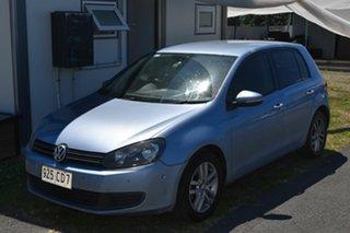 2009 Volkswagen Golf 1K MY10 103 TDI Comfortline Blue 6 Speed Direct Shift Hatchback