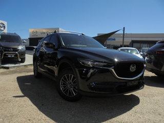 2019 Mazda CX-5 KF4WLA Maxx SKYACTIV-Drive i-ACTIV AWD Sport Black 6 Speed Sports Automatic Wagon.