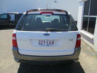 2006 Ford Territory SY TX (4x4) White 6 Speed Auto Seq Sportshift Wagon.
