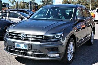 2017 Volkswagen Tiguan 5N MY17 162TSI DSG 4MOTION Highline Indium Grey 7 Speed