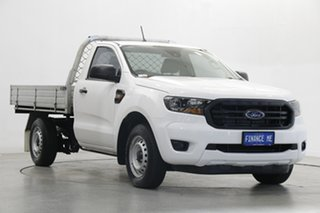 2020 Ford Ranger PX MkIII 2020.25MY XL Arctic White 6 Speed Manual Single Cab Chassis