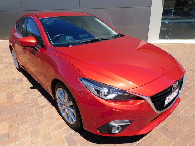 Used Mazda 3 BM5436 SP25 SKYACTIV-MT GT Toowoomba, 2014 Mazda 3 BM5436 SP25 SKYACTIV-MT GT Soul Red 6 Speed Manual Hatchback