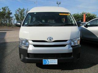 2018 Toyota HiAce COMMUTER White 6 Speed Automatic Mini Bus.