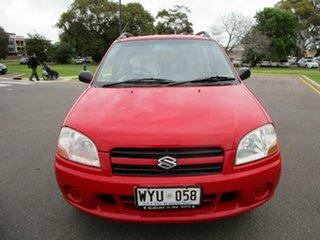 2003 Suzuki Ignis GL Red 4 Speed Automatic Hatchback.
