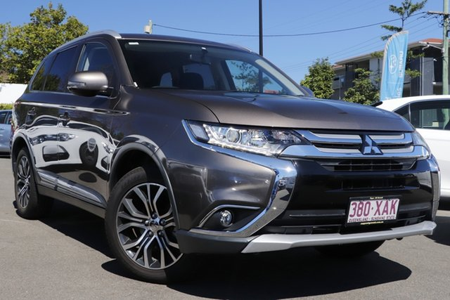 Used Mitsubishi Outlander ZK MY16 LS 2WD Mount Gravatt, 2016 Mitsubishi Outlander ZK MY16 LS 2WD Ironbark 6 Speed Constant Variable Wagon
