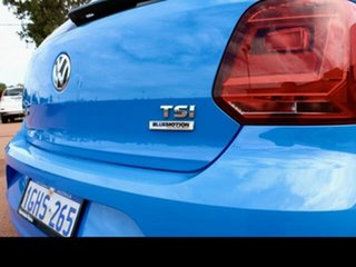 2017 Volkswagen Polo 6R MY17 66 TSI Trendline Blue 5 Speed Manual Hatchback