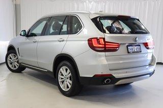 2014 BMW X5 F15 xDrive30d Silver 8 Speed Sports Automatic Wagon.