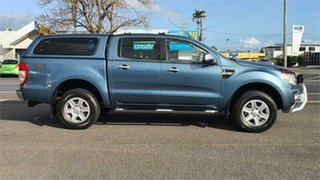2014 Ford Ranger PX XLT Double Cab Blue 6 Speed Sports Automatic Utility
