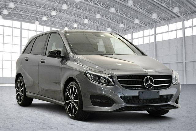 Used Mercedes-Benz B-Class W246 808+058MY B180 DCT Victoria Park, 2018 Mercedes-Benz B-Class W246 808+058MY B180 DCT Grey 7 Speed Sports Automatic Dual Clutch