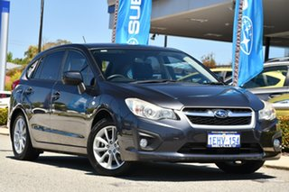 2013 Subaru Impreza G4 MY13 2.0i-L Lineartronic AWD Dark Grey 6 Speed Constant Variable Hatchback.