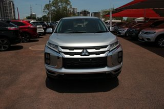 2019 Mitsubishi ASX XC MY19 ES 2WD Silver 1 Speed Continuous Variable Wagon.