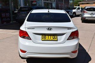 2017 Hyundai Accent RB5 MY17 Sport White 6 Speed Manual Sedan.