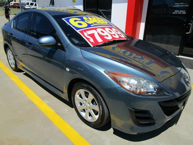 Used Mazda 3 BL10F1 Maxx Sport Springwood, 2009 Mazda 3 BL10F1 Maxx Sport Blue 6 Speed Manual Sedan