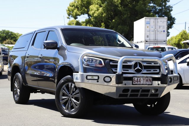 Used Mercedes-Benz X-Class 470 X250d 4MATIC Power Toowoomba, 2018 Mercedes-Benz X-Class 470 X250d 4MATIC Power Grey 7 Speed Sports Automatic Utility
