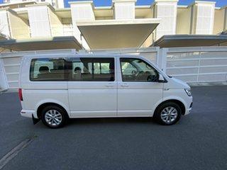 2016 Volkswagen Multivan T6 MY17 TDI340 SWB DSG Comfortline White 7 Speed.