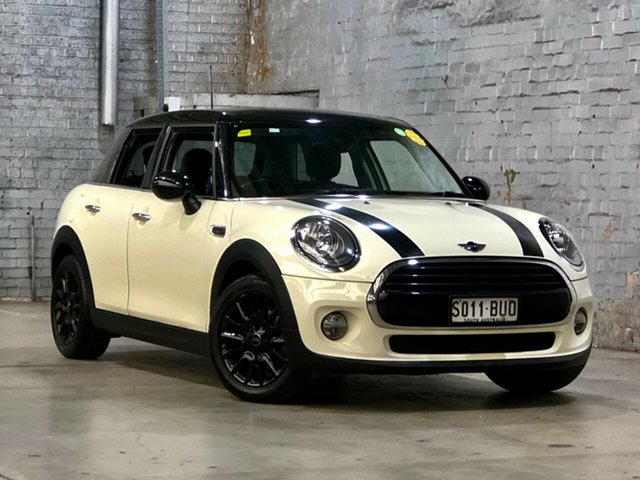 Used Mini Hatch F55 Cooper Mile End South, 2018 Mini Hatch F55 Cooper White 6 Speed Automatic Hatchback
