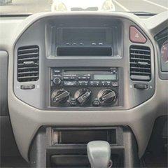 2003 Mitsubishi Pajero NP GLS Silver 5 Speed Sports Automatic Wagon