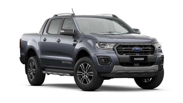 New Ford Ranger PX MkIII 2021.75MY Wildtrak Cardiff, 2021 Ford Ranger PX MkIII 2021.75MY Wildtrak Meteor Grey 10 Speed Sports Automatic