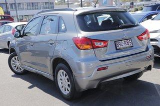 2010 Mitsubishi ASX XA MY11 2WD Grey 6 Speed Constant Variable Wagon.