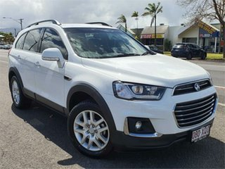 2017 Holden Captiva CG MY18 Active 2WD White 6 Speed Sports Automatic Wagon